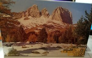 Last Snow on the Langkofel F.X. Schmid Jigsaw Puzzle 1000 pcs Made West Germany