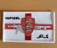 Knight's Templars Infidel / sew on patch