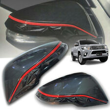 COVER SIDE WING MIRROR CARBON FOR TOYOTA HILUX REVO ROCCO M70 M80 2015 16 17 18