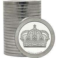 Crown Stackables 1oz .999 Fine Silver Rounds 20 Piece Lot in Tube by SilverTowne