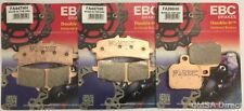 Ducati Panigale V4 (2018) EBC Sintered FRONT and REAR Disc Brake Pads (3 Sets)