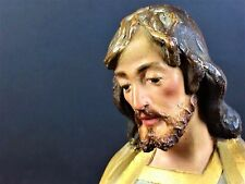 SAINT JOSEPH WITH CHILD. POLYCHROME TERRACOTTA. EL ARTE CRISTIANO ESPAÑA.XIX-XX
