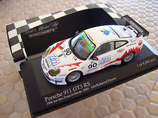 PORSCHE 911 GT3 RS 2004 MINICHAMPS LIMITED EDITION 1/43rd SPA 1000Km NEW IN BOX