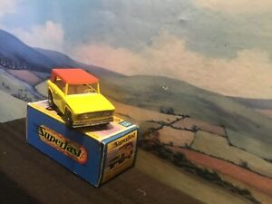 Matchbox Superfast No 18 Field car. Boxed.