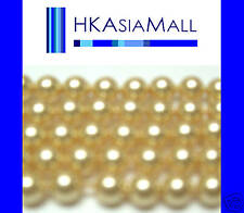 50pcs Swarovski Crystal Beads Pearl 5810 4mm lot GOLD