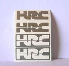 OFFERTA kit 4 adesivi HRC moto honda racing sticker decal cbr rs125 offer rs250