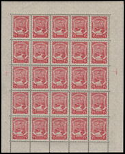 ✔️ COLOMBIA SCADTA 1923 - AIRPLANE - FULL SHEET - SC. C40 ** MNH [SCDT31]