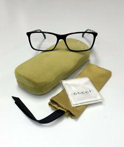 GUCCI GG0553-O Black / Black Transparent 005 Glasses RX Eyeglasses Frame 56[]16