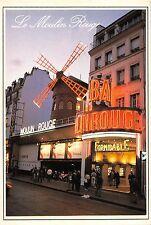 Bt4342 la moulin rouge illumine Paris France