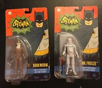 New ~ Batman Classic TV Series Action Figures (Mr. Freeze & Bookworm) Funko DC