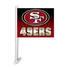 San Francisco 49ers Ombre Printed Car Auto Window Flag