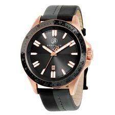 Brooklyn Florence Shaded Casual Swiss Quartz Black Rose Watch-AU