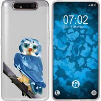 Silicone Case for Galaxy A80 Silicone Case vector animals M1  Cover