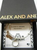 Alex and Ani QUEENS'S CROWN Bracelet Rafaelian Silver NWTBC SPRING 2017