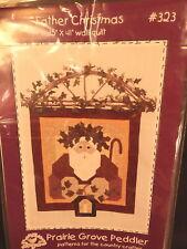 "Quilt Pattern ""Father Christmas"" 2001 Applique"