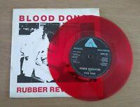 Blood Donor Rubber Revolution Red Vinyl 7' Vinyl Single Arista 1979