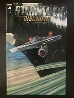 Star Trek Discovery Succession Retailer Incentive #4 2018 IDW Variant Comic Book