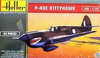 Heller 1:72 P-40E Kittyhawk Aircraft Model Kit