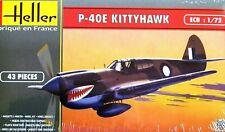Heller 1:72 P-40E Kittyhawk Aircraft Model Kit