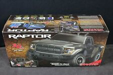 TRAXXAS 58094-1 2017 FORD RAPTOR SLASH BRUSHED2WD NO BATTERY or CHARGER BLUE 886
