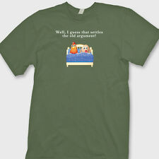 Chicken Or The Egg Which Came First Funny Rude T-shirt Humor Tee Shirt