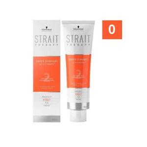 Schwarzkopf Strait Therapy Cream 300 ML Haarglättungscreme Smooth Hair Curls