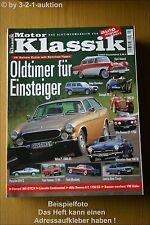 Motor Klassik 2/03 * Porsche 924 VW Käfer Ford Mustang