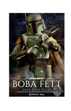 1/6 Scale Boba Fett Star Wars The Empire Strikes Back Sideshow #21282