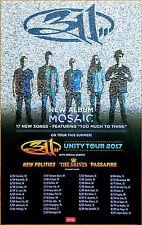311 Mosaic | Unity Tour 2017 Ltd Ed RARE New Poster +FREE Alt Rock Punk Poster!