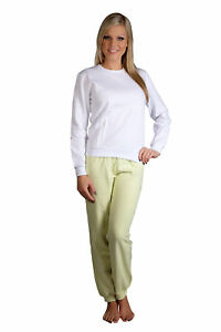 Hering Junior Woman's Thick Warm Cotton Two-Piece LongSleeve Pajama Set 76GR