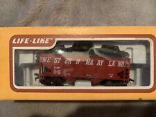 HO Scale - Coal Hopper Car - Western Maryland by Life-Like, #8505, Original Box
