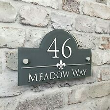Personalised Address Plaques & House Number Signs Door & Property Name Plates