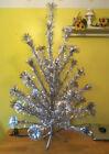 Aluminum Christmas Tree 4ft Pom Pom Royal Pine 5410