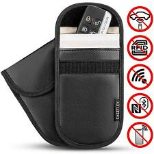 Keyless entry fob guards Blocking pouches Car key-lock signal block GSM/RFID x2