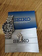 Seiko Analog Sport Automatic Diver's Silver Mens SKX007K2