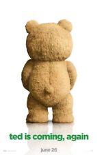 TED 2 MOVIE POSTER 2 Sided ORIGINAL Advance 27x40 MARK WAHLBERG SETH MCFARLANE