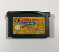 Donkey Kong Country 2 (Nintendo Game Boy Advance, 2004) GBA - AUTHENTIC - EUR