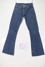 Levis 516 Flare INDIGO Bootcut (Cod. W413) Tg41 W27 L34 jeans usato ACORTADO