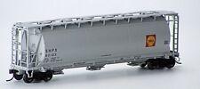 Atlas HO Scale 3-Bay Cylindrical Hopper - Shell