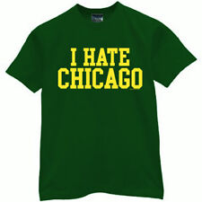 Green Bay Packers T-shirt I HATE CHICAGO funny football jersey new 3XL