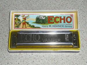 M.Hohner Echo super Vamper German Harmonica