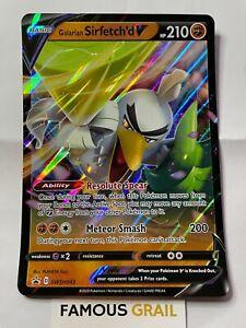 Galarian Sirfetch'd V - SWSH043 - JUMBO Rare Holo Card - Pokemon SWSH Promo MINT