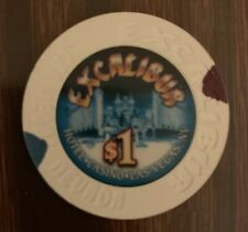 New listing Las Vegas Excalibur Casino $1 Chip — Uncirculated Combining Ship 50% Off