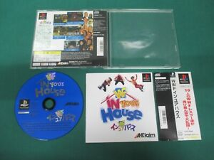PlayStation -- WWF IN Your HOUSE -- PS1. JAPAN. Spine card. work fully. 18394