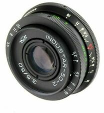 Industar 50-2 3.5/ 50mm lens M42 USSR with adapter for Zenit, Canon, Nikon