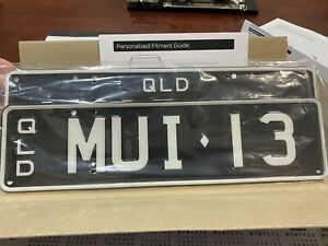number plates MUI 13 Just Easy to Remember Bought By Accident Half Price