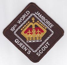 1999 World Scout Jamboree BELIZE QUEEN'S SCOUTS Contingent Backpatch (BP)