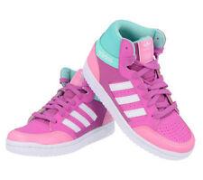 Chaussures roses adidas en cuir pour fille de 2 à 16 ans