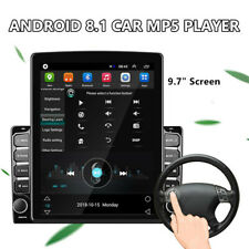 9.7inch Touch Screen HD 2.5D Car Explosion-proof Glass MP5 Player Android 8.1