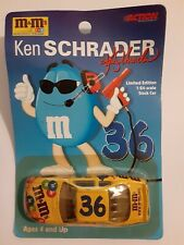 RARE 1999 LIMITED EDITION KEN SCHRADER 1:64 STOCK CAR # 36 -  M & M'S